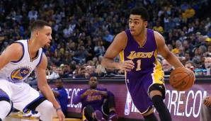 PG: D'Angelo Russell, Saison 2015/16: 13,2 Punkte, 3,4 Rebounds, 3,3 Assists