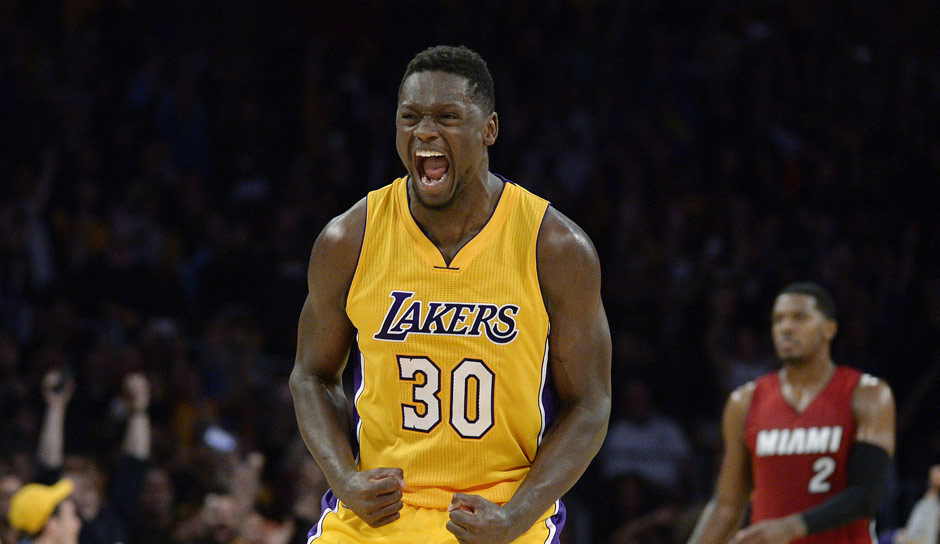 PF: Julius Randle, Saison 2015/16: 11,3 Punkte, 10,2 Rebounds, 1,8 Assists