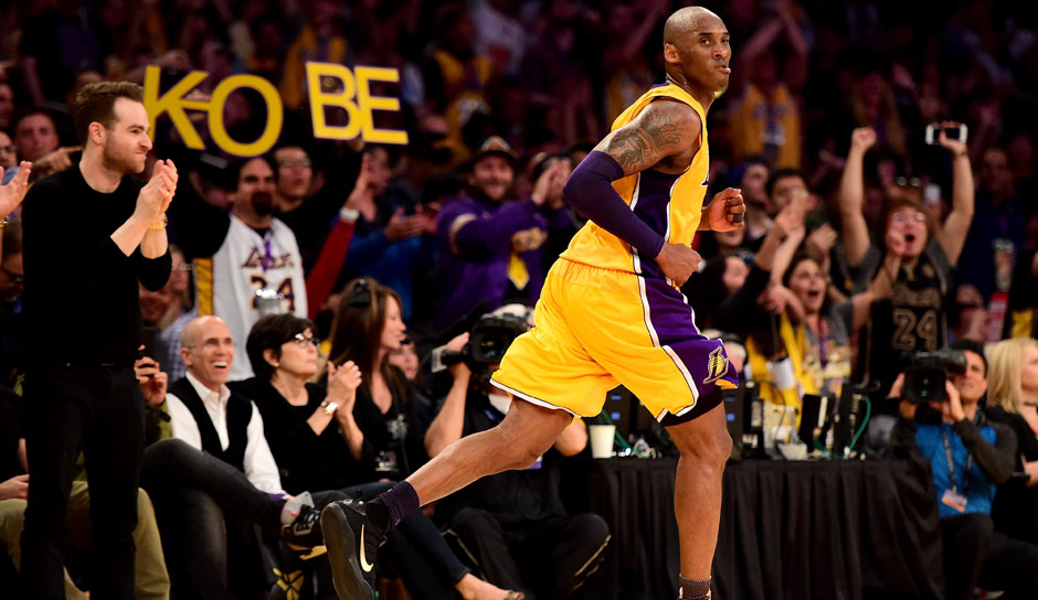 All-Time-Scoring-Leader: Kobe Bryant (1996-2016) mit 33.643 Punkten