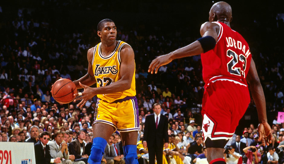 All-Time-Assists-Leader: Magic Johnson (1979-1991, 1996) mit 10.141 Assists