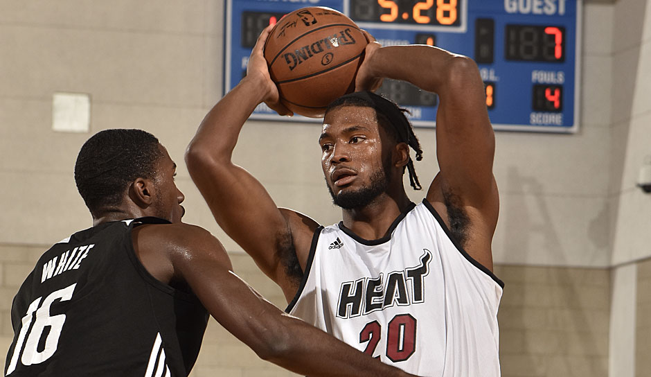 Justise Winslow, Miami Heat (16, 3 Punkte, 3,7 Rebounds, 2,3 Assists, 2 Steals)