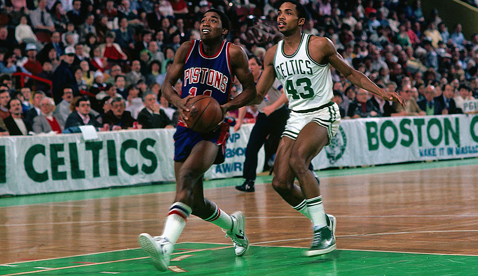 Isiah Thomas (Detroit Pistons 1981-1994): 13 Saisons. Erfolge: 2x NBA-Champions (1989,1990), Finals-MVP (1990), 12x All-Star (1982-1993)