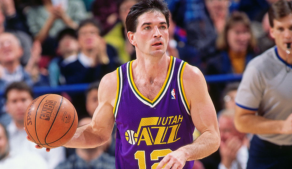 John Stockton (Utah Jazz, 1984-2003): 19 Saisons. Erfolge: 10x All-Star (1989-1997, 2000)