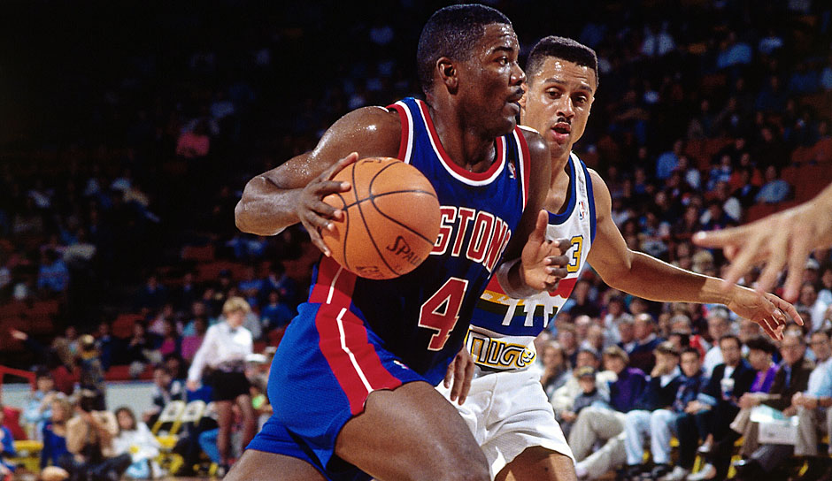 Joe Dumars (Detroit Pistons, 1985-1999): 14 Saisons. Erfolge: 2x NBA-Champion (1989,1990), Finals-MVP (1989), 6x All-Star (1990-1993, 1995, 1997)