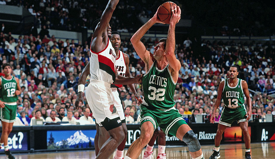 Kevin McHale (Boston Celtics, 1980-1993): 13 Saisons. Erfolge: 3x NBA-Champion (1981, 1984, 1986), 7x All-Star (1984, 1986-1991)
