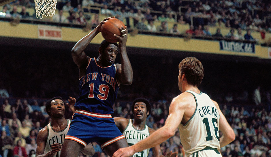 Willis Reed (New York Knicks, 1967-1977): 10 Saisons. Erfolge: 2x NBA-Champion (1970, 1973), 2x Finals-MVP (1970, 1973), MVP 1970, 7x All-Star (1965-1971)