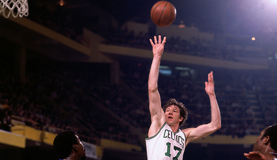 John Havlicek (Boston Celtics 1962-1978): 16 Saisons. Erfolge: 8x NBA-Champion (1963-1966, 1968, 1969, 1974, 1976), Finals-MVP (1974), 13x All-Star (1966-1978)