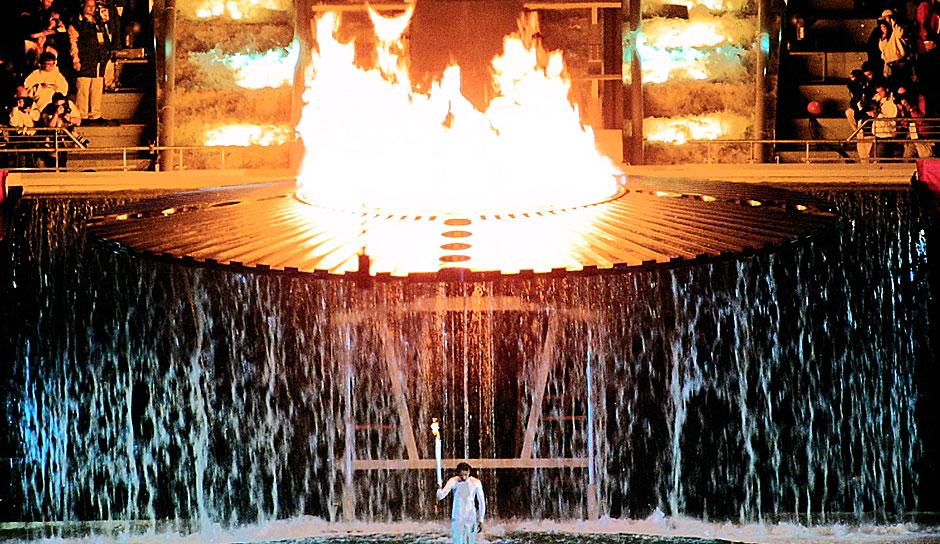 Olympisches Feuer Entzünden