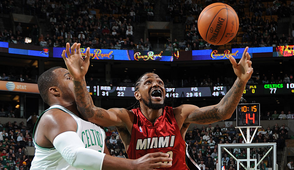 All-Time Rebounding Leader: Udonis Haslem mit 5.665 Boards
