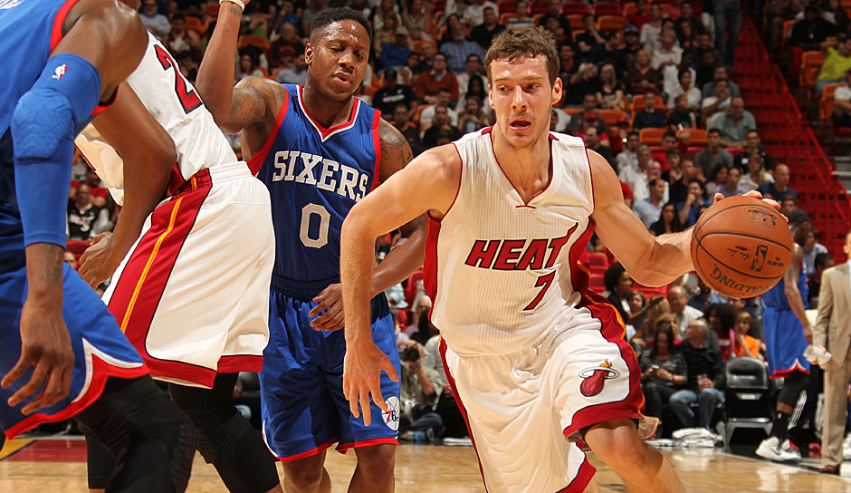 Starting Five, PG: Goran Dragic, Saison 2015/16: 14,1 Punkte, 3,8 Rebounds, 5,8 Assists