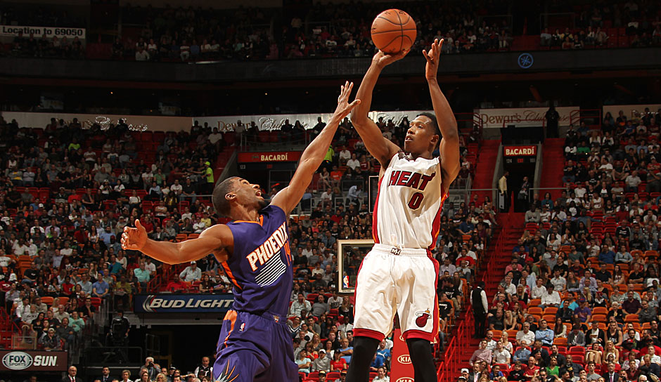 SG: Josh Richardson, Saison 2015/16: 6,6 Punkte, 2,1 Rebounds, 1,4 Assists