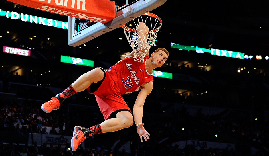 Platz 12: Blake Griffin (Los Angeles Clippers), 3,97 Millionen Follower (bei Twitter seit April 2009)