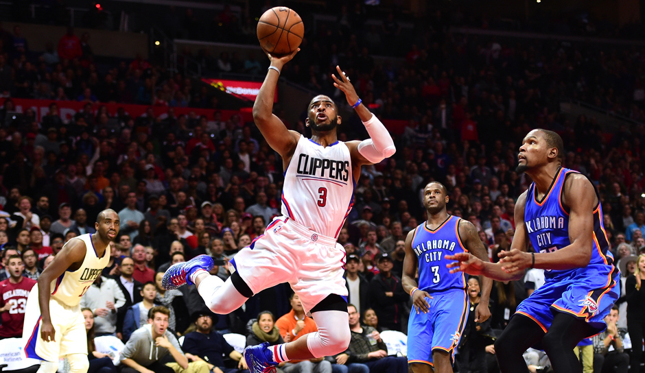 Platz 9: Chris Paul (Los Angeles Clippers), 5,28 Millionen Follower (bei Twitter seit Juli 2009)