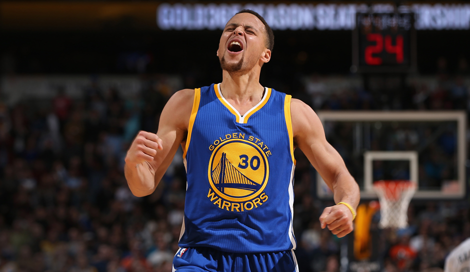 Platz 6: Stephen Curry (Golden State Warriors), 6,68 Millionen Follower (bei Twitter seit Mai 2009)