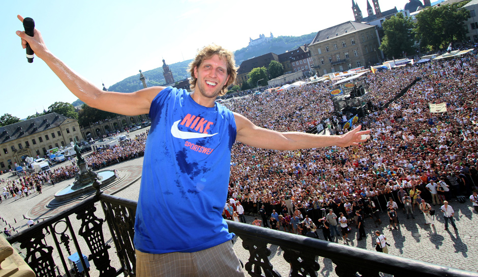Platz 22: Dirk Nowitzki (Dallas Mavericks), 2,09 Millionen Follower (bei Twitter seit Oktober 2010)