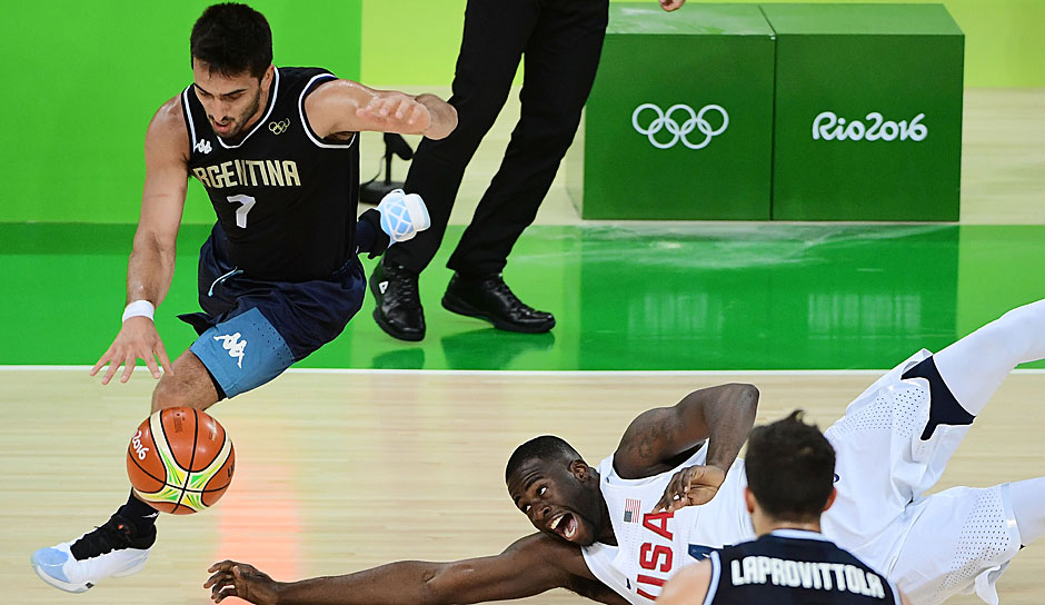 All Olympic 3rd Team - PG: Facundo Campazzo (Argentinien, UCAM Murcia): 15,8 Punkte, 44,6 Prozent FG, 37,8 Prozent 3FG