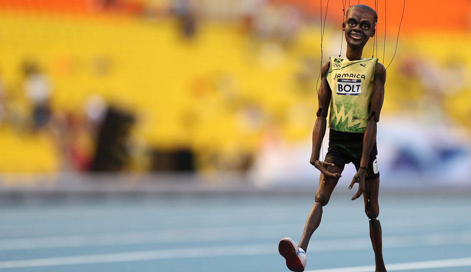Usain Bolt Höchstgeschwindigkeit