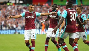 Platz 13: West Ham United mit 539,5 km