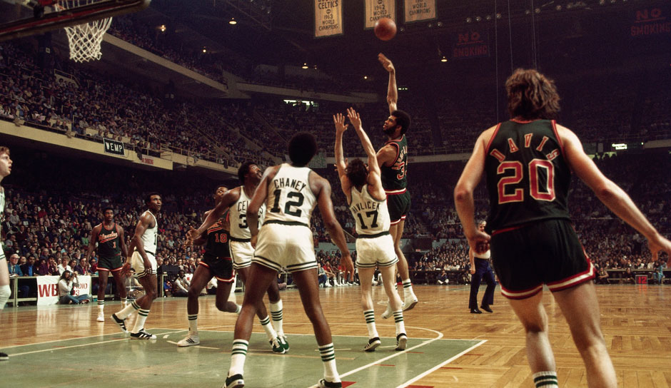 All-Time Scoring Leader: Kareem Abdul-Jabbar mit 14.211 Punkten