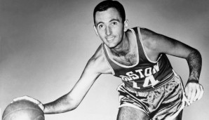 All-Time Assists Leader: Bob Cousy mit 6.945 Dimes
