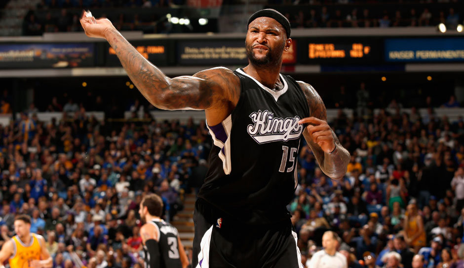 C: DeMarcus Cousins, Saison 2015/16: 26,9 Punkte, 11,5 Rebounds, 3,3 Assists