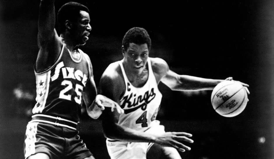 All-Time Rebounding Leader: Sam Lacey mit 9.353 Brettern (Cincinnati Royals und Kansas City Kings)