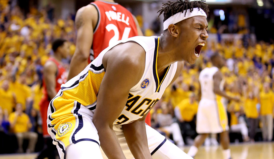C: Myles Turner, Saison 2015/16: 10,3 Punkte, 5,5 Rebounds, 1,4 Blocks