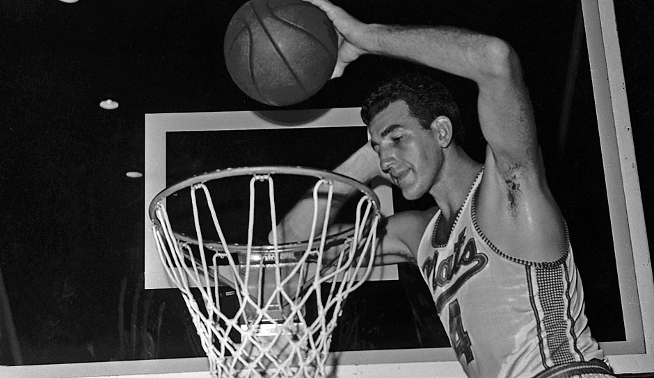 All-Time Rebounding Leader: Dolph Schayes mit 11.256 Rebounds