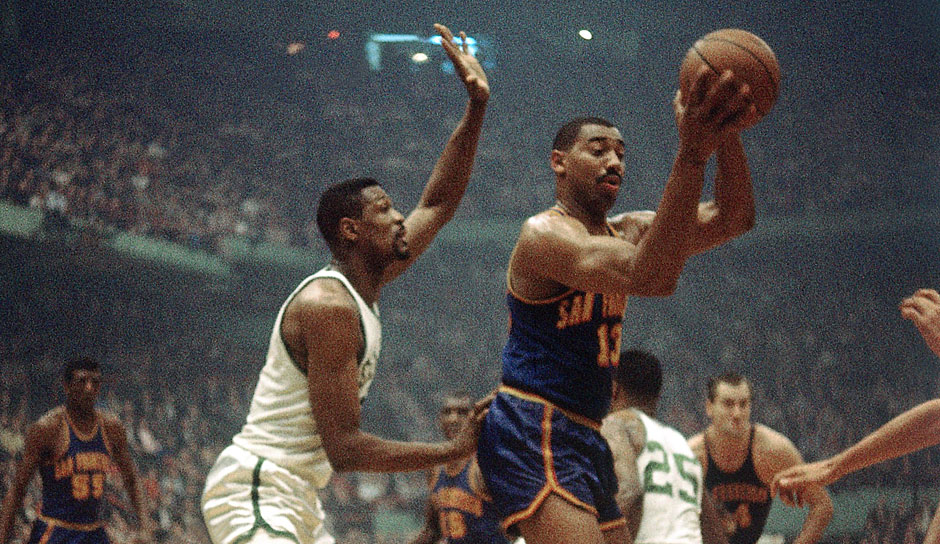 All-Time Scoring Leader: Wilt Cahmberlain mit 17.183 Zählern