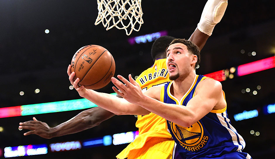 SG: Klay Thompson, 2015/16: 22,1 Punkte, 3,8 Rebounds, 2,1 Assists