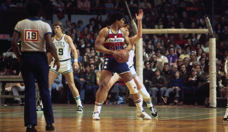All-Time Rebounding Leader: Wes Unseld mit 13.769 Rebounds