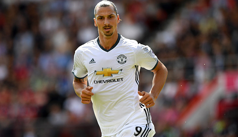 Zlatan Ibrahimovic (Paris Saint-Germain/Manchester United/Schweden)