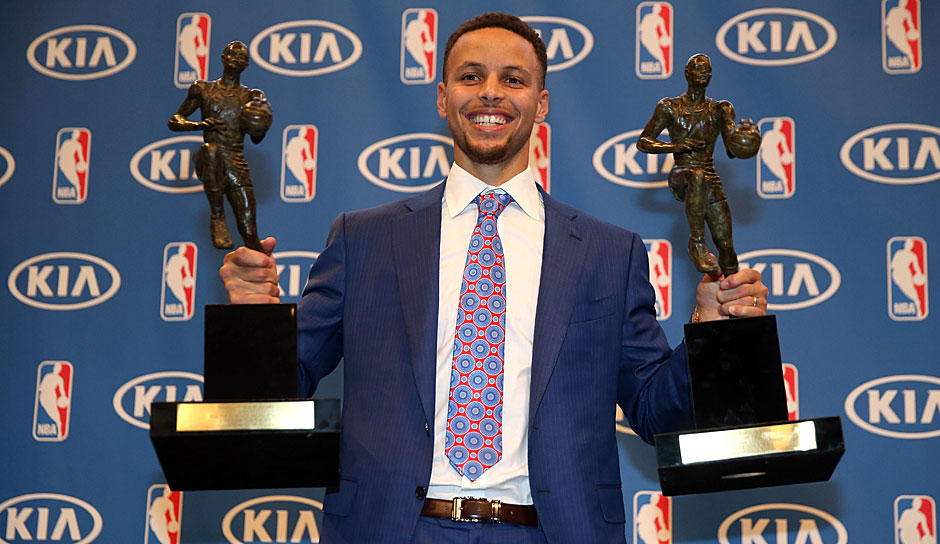 Platz 2: Stephen Curry (Golden State Warriors) - 1777,75 Punkte