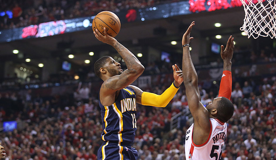 Platz 20: Paul George (Indiana Pacers) - 1214 Punkte