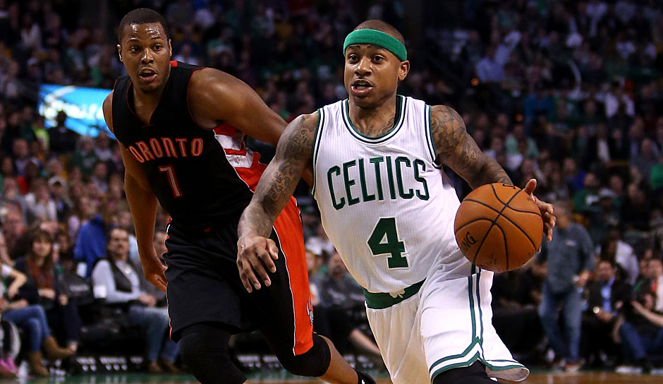 Platz 24: Isaiah Thomas (Boston Celtics) - 1168,25 Punkte