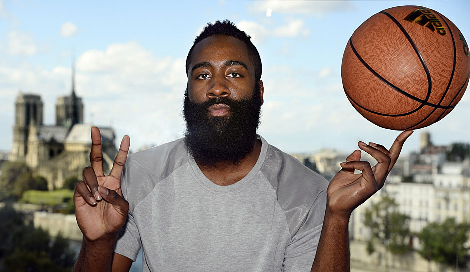 Platz 5: James Harden (Houston Rockets) - 1555 Punkte