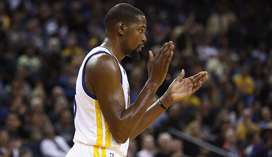 Platz 6: Kevin Durant (Golden State Warriors) - 1506,25 Punkte