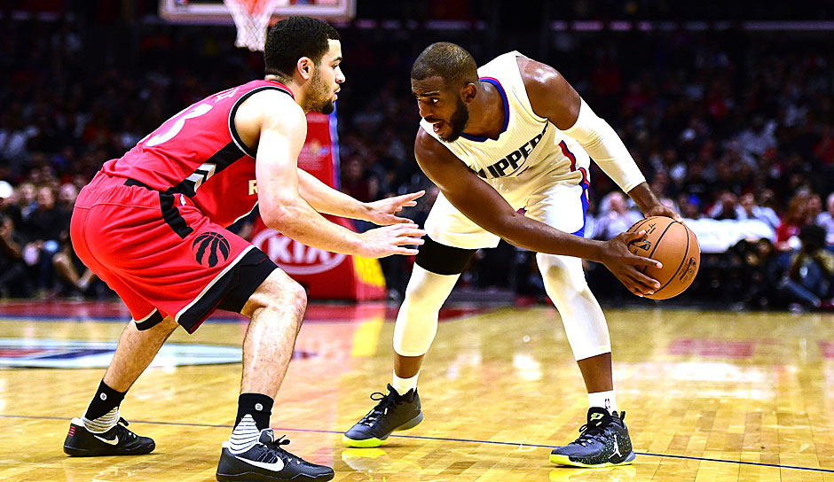 Platz 7: Chris Paul (Los Angeles Clippers) - 1418,75 Punkte