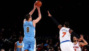 SF: Danilo Gallinari, Saison 2015/16: 19,5 Punkte, 5,3 Rebounds, 2,5 Assists