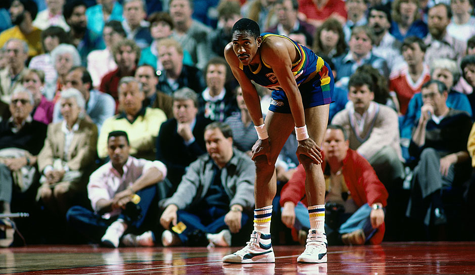 All-Time Scoring Leader: Alex English mit 21.645 Punkten