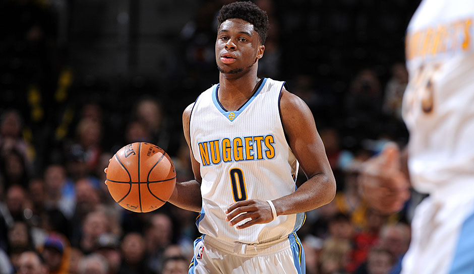 PG: Emmanuel Mudiay, 2015/16: 12,8 Punkte, 3,4 Rebounds, 5,5 Assists
