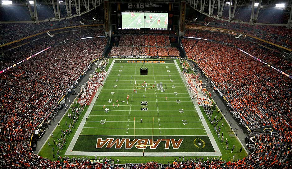 6. College Football Playoffs: 160 Mio. US-Dollar. +51 Prozent