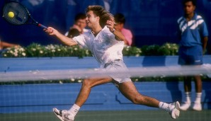 1990 in Frankfurt: Andre Agassi (USA)