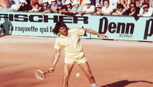 1971 bis 1973 in Paris, Barcelona und Boston: Ilie Nastase (Rumänien)