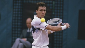 1981 und 1982 in New York: Ivan Lendl (Tschechoslowakei)