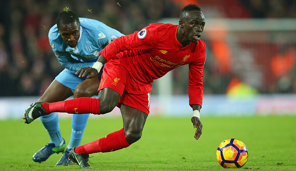 ANGRIFF: Sadio Mane (FC Liverpool, 18 Spiele, 8 Tore, 5 Assists)