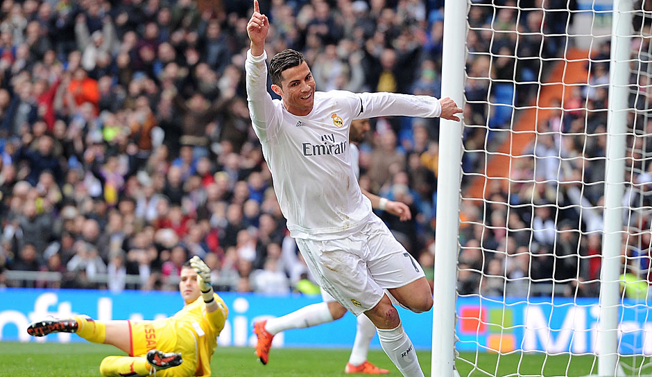 Cristiano Ronaldo (Real Madrid, 11 Spiele, 10 Tore, 2 Assists)