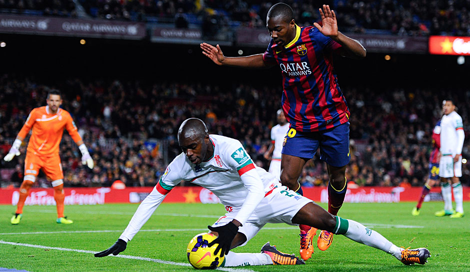 Adama Traore - 25.1.1996 - in der Barca-Jugend seit: 2004 - Profi-Stationen: FC Barcelona (2013-2015), Aston Villa (2015-2016), FC Middlesbrough (seit 2016)