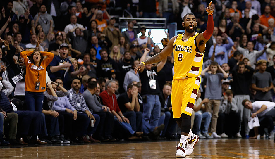 STARTING BACKCOURT: Kyrie Irving (Cleveland Cavaliers)