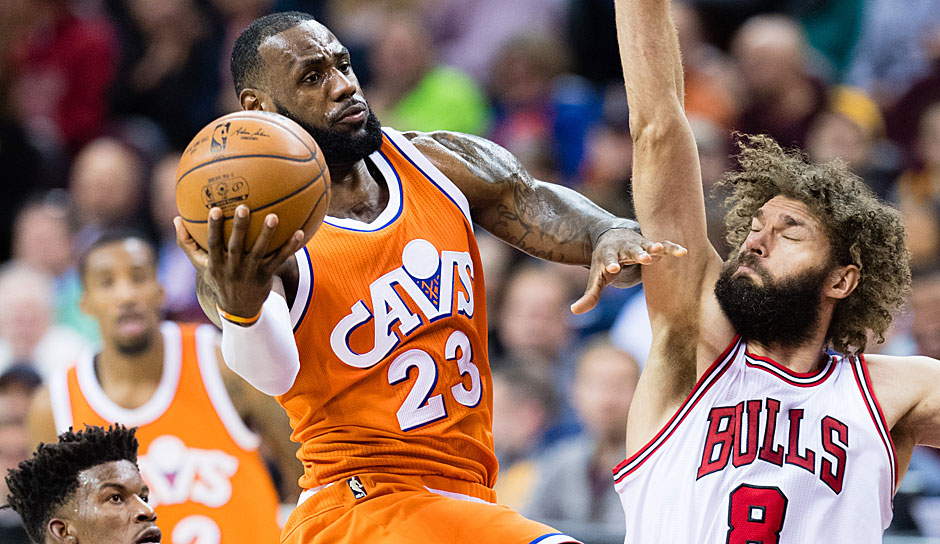 EASTERN CONFERENCE: FRONTCOURT: LeBron James (Cleveland Cavaliers) 595,288 Stimmen